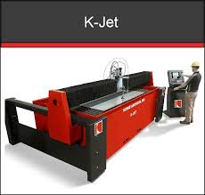 k jet waterjet cutting machine