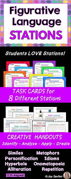 93 best ideas about my teachers pay teachers store figurative language stations common core