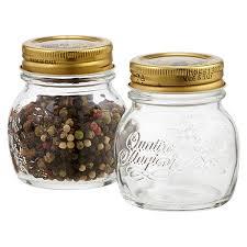 Decorative Spice Jars Quattro Stagioni 100 oz Glass Spice Jar The Container Store 97
