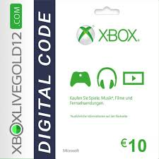 Microsoft Giftcard Microsoft Gift Card 10 Euro Xbox One 360 Digato Pl