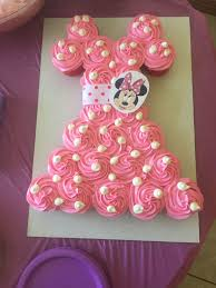 22982438 Minnie Mouse Cake Diy We Bought A Polka Dot Cake From Sams