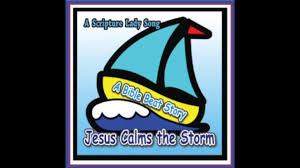 Jesus' words calm a violent storm on the sea of galilee. Pin On Original Songs By The Scripture Lady