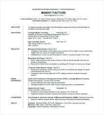 Mechanical Engineer Resume Example Mechanical Mechanical Project