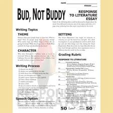 bud not buddy essay prompts grading rubrics by created for learning bud not buddy essay prompts grading rubrics