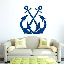 ocean wall stickers anchor wall decal sticker nautical wall decor sea ocean wall stickers for kids ocean wall stickers wall stickers vinyl decal