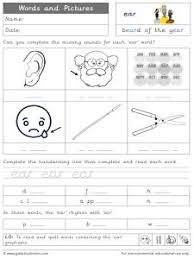 So far you can see we have a variety of sets of worksheets that deal with beginning sounds and rhyming and we are working on more. Ear Phonics Worksheets And Games Galactic Phonics