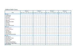 Free Chore Chart Template Toddler Charts Yidianzixun Info