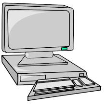 Computer Clip Art Desktop Computer Clip Art At Clker Com Vector Clip Art