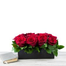 dozen red rose box