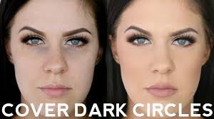 how to cover dark under eye circles you