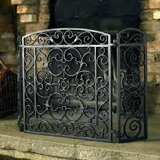 iron fireplace screen. Ornate Fireplace Screens Screen Decorative Wrought Iron . E