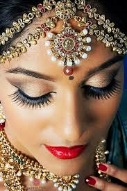 south indian bridal makeup for beautiful lashes