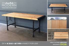 awesome homemade modern ep68 pipe coffee table in pipe coffee table ordinary