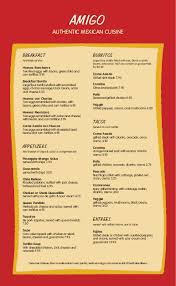 breakfast menu template spanish cuisine menu templates musthavemenus 14 found