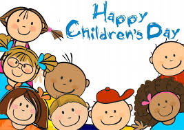 happy children s day kids clipart