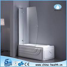 china hinge shower screen glass shower door folding bat