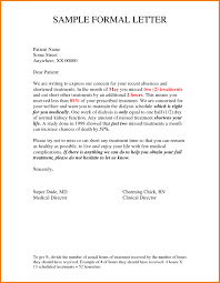 Format Of Formal Letter Writing Image Collections Letter Format