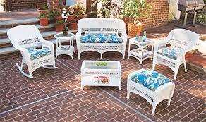 Fresh White Wicker Patio Furniture 24 In Home Decor Ideas with