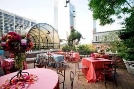 los patios san antonio weddings elegant patio reception on caballo canyon