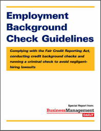 employment background check. Unique Background Employment Background Check Guidelines Complying With The Fair Credit  Reporting Act Conducting Credit Background Checks And  Inside