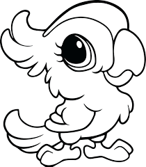 Baby Zoo Animals Coloring Pages Avatherminfo