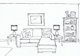 Furniture Sketches Room Sketch