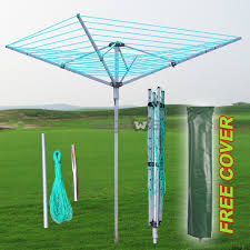 outside clothes drying rack umbrella style laundry drying rack umbrella outdoor inground style 11 lines clothes