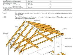 Roof Beam Sizing Chart Roof Beam Span Table Newgroun Co
