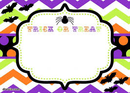 Blank Halloween Invitation Templates Remarkable Free Blank Halloween Invitation Templates