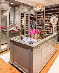 girls walk in closet. Glass-topped Island, Mirrored Doors, Jewelry Dresser, And Lots Of Shoes! My DreaM Closet ! - Luxury Home Decor Girls Walk In