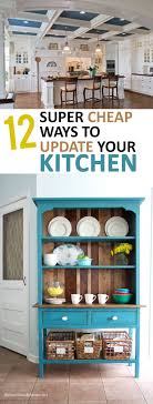 Updating Kitchen 17 Best Ideas About Easy Kitchen Updates On Pinterest Home