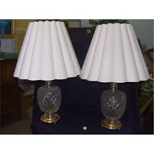 scalloped lamp shades home design canada scallop bell table