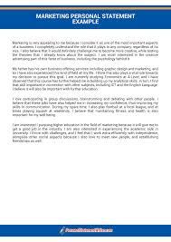 get marketing personal statement help marketing personal statement help