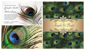 peacock invitations peacock design wedding invitations peacock wedding invitations