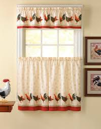 Kitchen Tier Curtains Sets Similiar Rooster Tier Kitchen Curtains Keywords