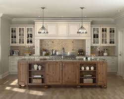 Interesting Off White Kitchen Cabinets Dark Floors Cool With For Inspiration