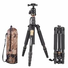 Amazon.com : EACHSHOT Q666 Tripod With Q-02 360 Degree Swivel Fluid Head  For Canon For Pentax For Sony For Olympus DSLR Camera : Camera & Photo