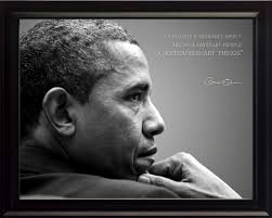 Barack Obama Photo Picture Poster Or Framed Famous Quote Change