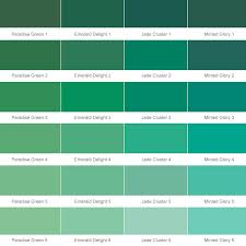 Different Shades Of Green Chart Shades Of Green Color Chart Dulux Bedowntowndaytona Com