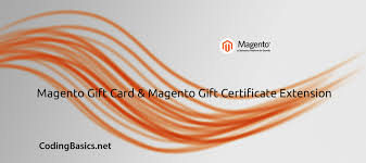magento gift card gift certificate extension