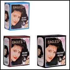 eagle s henna color hair dye henna hair promotes hair growth 6 packs of 10g