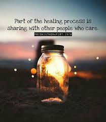Healing Inspirational Quotes Extraordinary Positive Quotes Part Of The Healing Process Is Sharing With Other