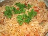 arroz brasileiro rice with tomatoes and onions