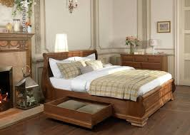 wooden sleigh bed. Beautiful Sleigh Super Kingsize Wooden Sleigh Bed In E