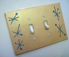 modern switch plate covers. Interesting Switch Mid Century Modern Switchplate Atomic Sky Blue FREE SHIPPING USA Intended Switch Plate Covers M