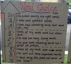 51 Rigorous Word Choice Anchor Chart