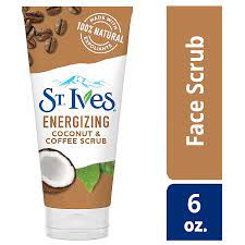 Bring on the energy of the day with pampered, soft skin! St Ives Rise Energize Coconut Coffee Face Scrub Walgreens