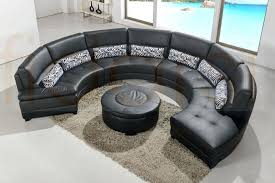 round sectional furniture sectional with curved corner round sofa chair set