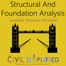 Summer Training Program In Civil Engineering Structural And
