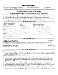 Database Developer Resume Template Delectable Database Developer Resume Sample Technical Resumes LiveCareer Resume